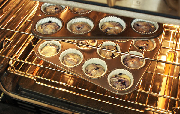 blueberry-cupcakes-in-oven