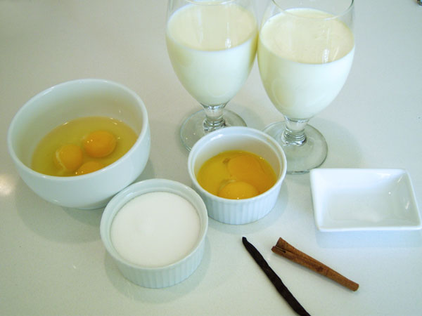 creme_caramel_ingredients