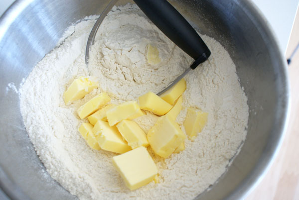 raisin-scones-add-butter