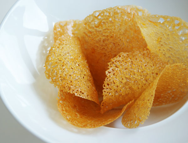 Meyer Lemon Lace Tuiles Recipe — Dishmaps