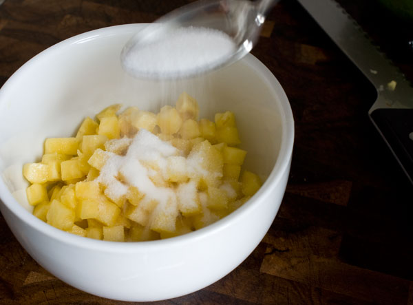 pineapple-add-sugar