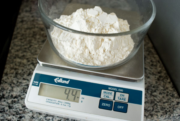 how to make cake flour by weight