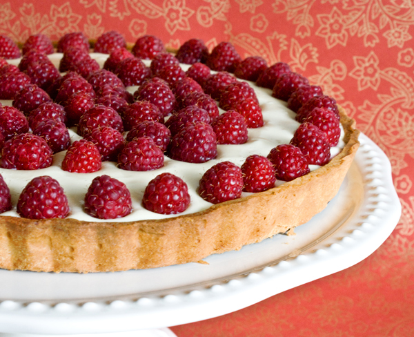 recipe: raspberry and white chocolate tart recipe [7]